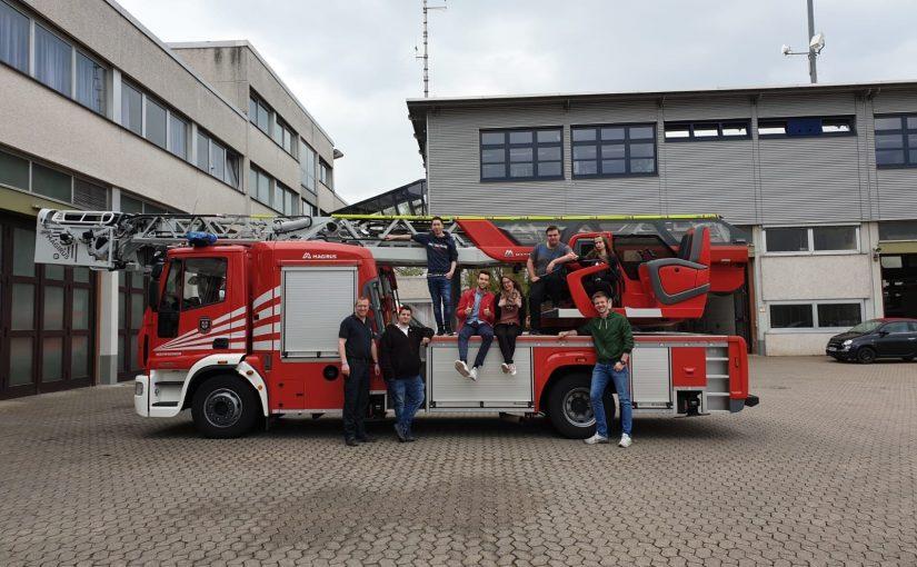 Besichtigung der Berufsfeuerwehr in Koblenz