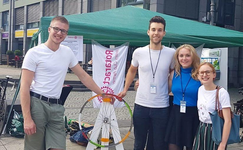 Infostand auf dem Koblenzer Fahrradtag