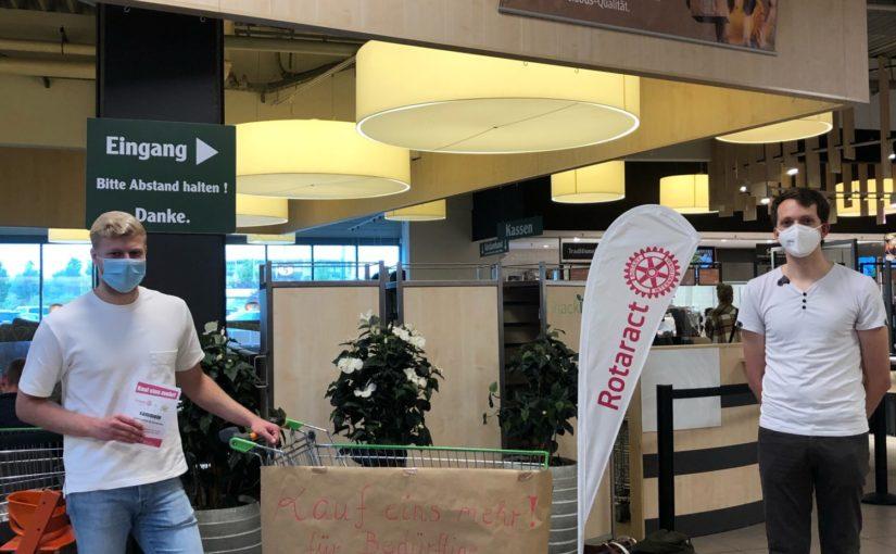 Kauf-eins-mehr-Aktion im   Globus-Bubenheim